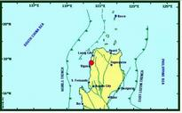 Deep? moderate earthquake below Luzon Philippines