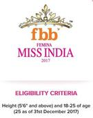 Now you can be the next fbb Femina Miss India