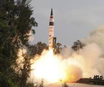 Agni-II ballistic missile test fire fails