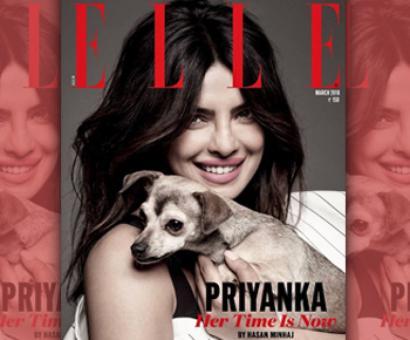 Priyanka's baby makes debut on mag cover