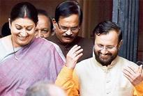 Javadekar replaces Smriti as new HRD min