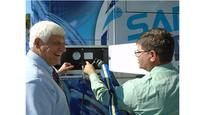 Congressman Bob Gibbs Tours SARTA's Hydrogen Fueling Facility and Fuel Cell Bus