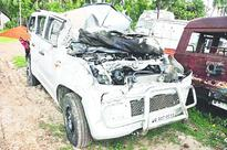 Four dead as car turns turtle on highway