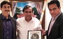 KTR Woos Mukesh Ambani, Cyrus Mistry to Invest in TS