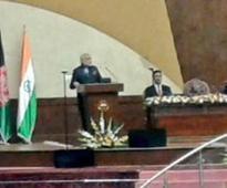 PM Narendra Modi address to Afghanistan parliament: Read full speech