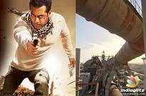 Salman Khan shoots in Cement Factory!
