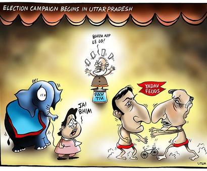 Uttam's Take: Modi, Maya, Yadavs in UP's political circus