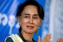 A year on, regal Suu Kyi struggles to move Myanmar on from conflict
