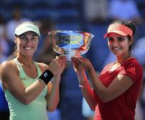 Hingis and Mirza call time on doubles partnership
