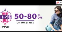 PAYTM's Flat Rs.300 Cashback On Bill Payments Vs MYNTRA's End of Reason Sale 80% Off on Apparels