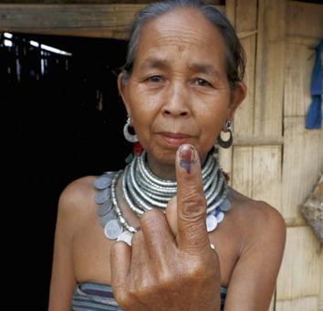 89.8 per cent voter turnout in battleground Tripura