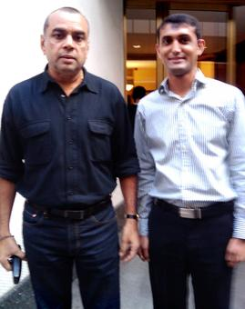 Spotted: Paresh Rawal in New York