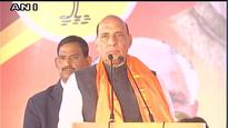 What is govt doing? Rajnath Singh targets Cong over deaths of Gauri Lankesh and Paresh Mesta