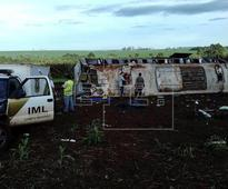 At least 7 die in bus accident in southern Brazil