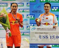 Asia Badminton Championships: China win three gold medals after mixed doubles upset