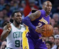 Lakers defeat Celtics in Kobe Bryant's Boston farewell