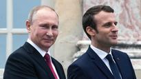 France, Russia agree on need for Ukraine peace talks soon: Emmanuel Macron