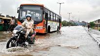 Rainfall cripples Capital's traffic