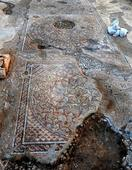 Mosaic from Byzantine era found in Israeli road work site