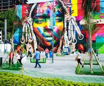 A 30,000-Square-Foot Olympics Mural May Just Be a Record
