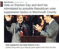 Desperate Doherty alleges voter suppression
