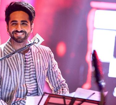 Why is Ayushmann taking piano lessons?
