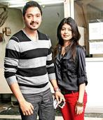 Shreyas Talpade and wife Deepti were seen enjoying a day out