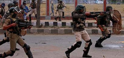 CRPF sends plastic bullets to Kashmir to cut pellets usage