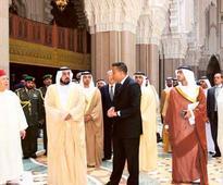 July 22, 2006: Khalifa visits landmark mosque in Morocco