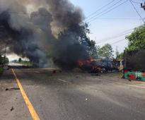 Explosion hits checkpoint in southern Thailand