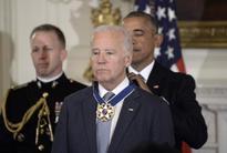 The Obama-Biden 'Bromance' through the years