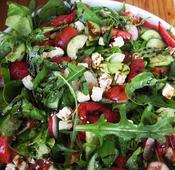 Strawberry, Feta and Black Pepper Salad recipe