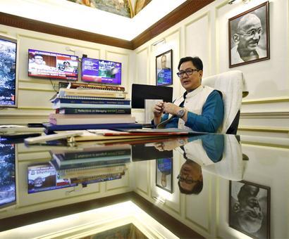 Chinese transgressions in Arunachal reported: Rijiju