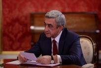 President Sargsyan sends letter of condolences to President of China Xi Jinping