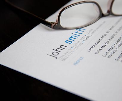 5 tips to draft a winning CV