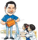 Now, Sachin Tendulkar will tell kids to wash their hands
