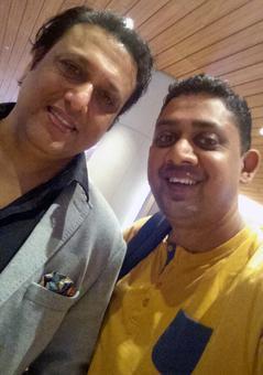 Spotted: Govinda at Mumbai airport