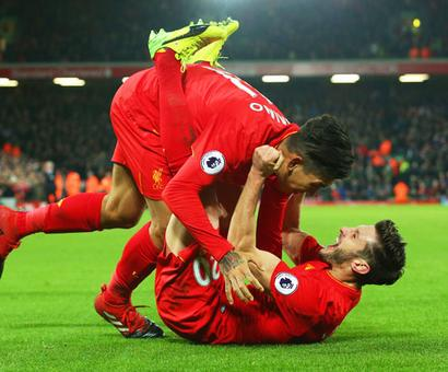 EPL PHOTOS: Liverpool rally to thrash Stoke, move to 2nd spot