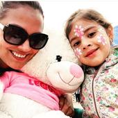 Lara Dutta's daughter Saira is all smiles as she enjoys a day out with doting parents!