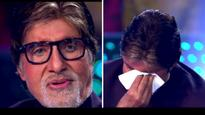 Watch | Birthday celebrations on the sets of KBC 9 leaves Amitabh Bachchan teary-eyed
