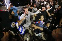 Protesters Stormed the Streets After a Donald Trump Rally in Orange County