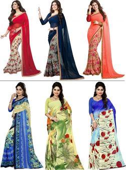 4 Stunningly Beautiful Sarees for This Festive Season