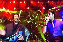Sunny Leone, Jacqueline Fernandes, Aditi Rao Hydari, Zarine Khan and Salim-Sulaiman perform at Sharat Khemka's wedding celebrations in Kanpur
