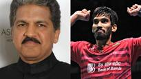 Anand Mahindra to gift a car to Srikanth Kidambi after his Australian Open triumph