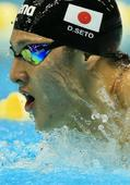 Photo Special: Japan's Olympic medal hopefuls -- Daiya Seto