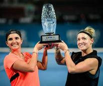 Brisbane International: Sania Mirza wins title, loses World No 1 rank to partner Bethanie Mattek-Sands