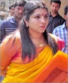Saritha has four questions for Chandy