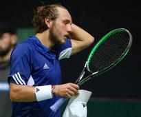 Pouille downs Thiem to capture first career title