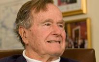 Fmr. US President Bush hospitalizedread story