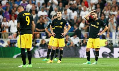 Atletico hoping against hope as history repeats itself at the Bernabeu